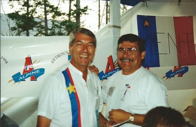 Jean-Eudes et Achille au CMA 1994