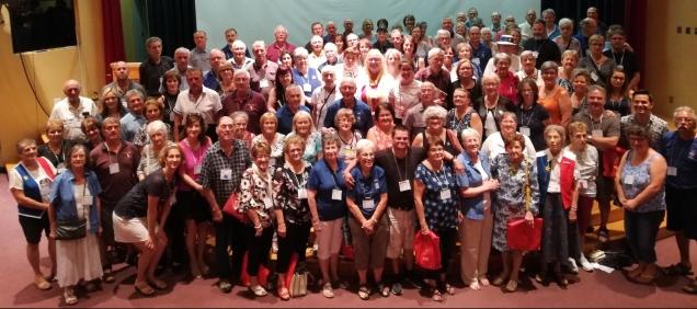 Maillet Reunion participants -- Participants à la Réunion de la Famille Maillet d'Acadie